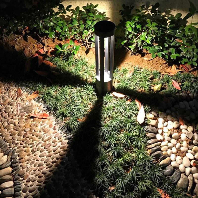 5pcs 10W Waterproof Courtyard Lawn Lamp Creative Simple Landscape Lighting Park Villa Walkway Residential Garden Light - 3