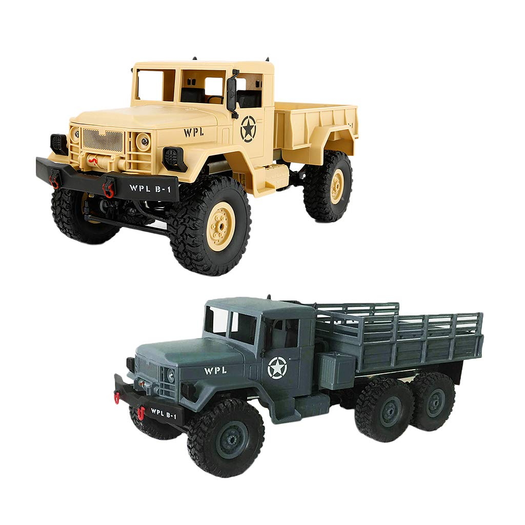 1: 16 télécommande militaire camion modèle RC voiture Coordination œil-main jouets éducatifs cadeau d'anniversaire pour enfants enfants en bas âge