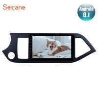 Seicane Android 8,1 9 2Din автомобиль радио для 2011 2012 2013 2014 KIA Picanto Morning gps навигации головное устройство AUX Wi Fi 4 х ядерный 1080 P