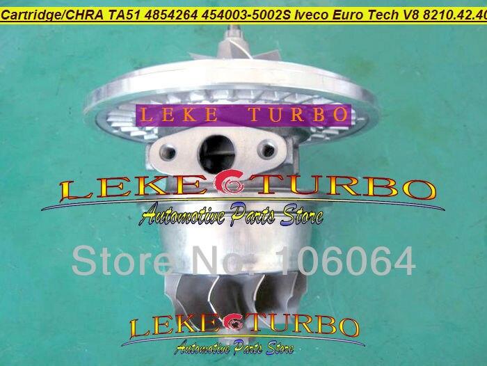 Turbo Cartridge CHRA Core TA5126 4854264 454003-0002 454003-5002S 454003 Turbocharger For IVECO Euro Tech V8 8210.42.400 17.2L