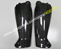 Hot Sales,Carbon Fiber Head Intake Tube Duct Cover For Yamaha YZF1000 R1 09 10 11 12 13 14 YZF R1 Aftermarket Motorbike Parts