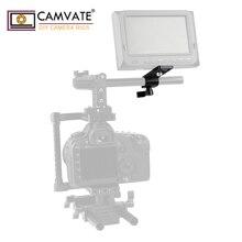 CAMVATE Extension Cheeseplate ze standardowym 15mm pojedynczym zacisk pręta do latarki LED/monitora/mikrofonu/oświetlenia LED