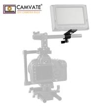 Camvate延長cheeseplate標準15ミリメートルための単一led懐中電灯/モニター/マイク/ledライト取付
