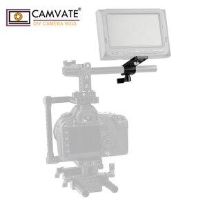 Image 1 - Extensão de camvate cheeseplate com padrão 15mm única haste braçadeira para lanterna led/monitor/microfone/led luz de montagem