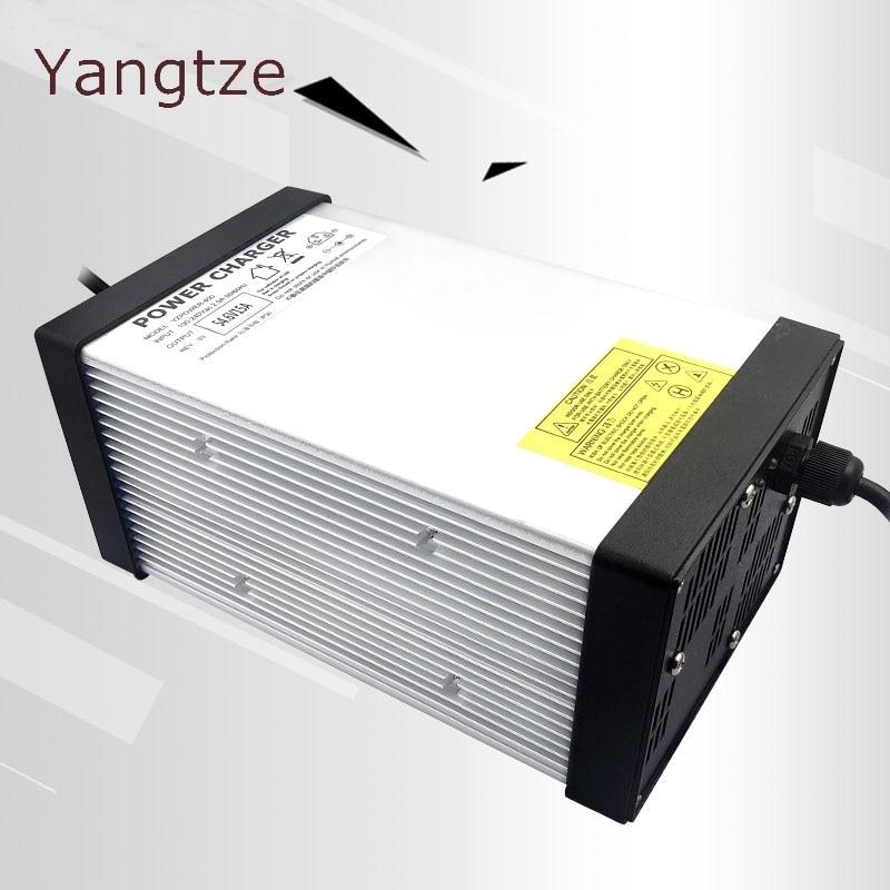 Yangtze 58V 15A 14A 13A Lead Acid Battery Charger For 48V Ebike E bike Pack AC