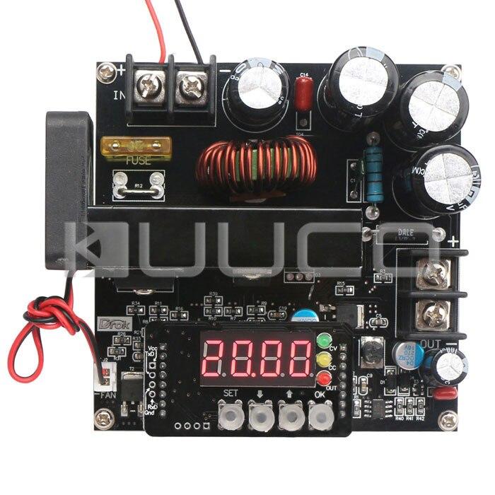 DC Boost Power Supply Module 900W DC8~60V to 10~120V 15A NC Adjustable Voltage Regulator DC12V 24V Boost ConverterDC Boost Power Supply Module 900W DC8~60V to 10~120V 15A NC Adjustable Voltage Regulator DC12V 24V Boost Converter