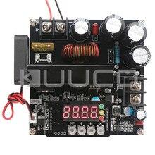Купить с кэшбэком 900W Power Supply Module DC 8~60V to 10~120V 15A NC Adjustable Voltage Regulator DC12V 24V Adapter/Driver with Voltmeter Ammeter