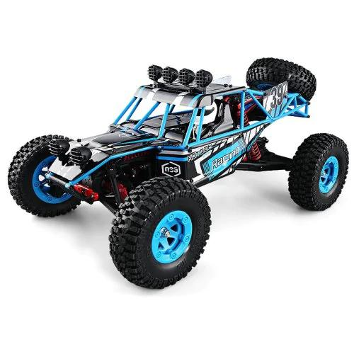 LeadingStar Kids 1:12 Four-wheel Drive 2.4G High Speed Crawler Car Remote Control Speed Model Vehicle ToyLeadingStar Kids 1:12 Four-wheel Drive 2.4G High Speed Crawler Car Remote Control Speed Model Vehicle Toy