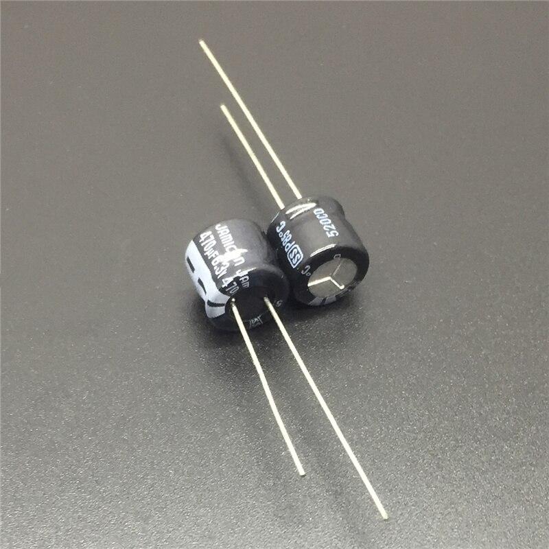 8Pcs 6.3X11mm 470uf 10V  105C