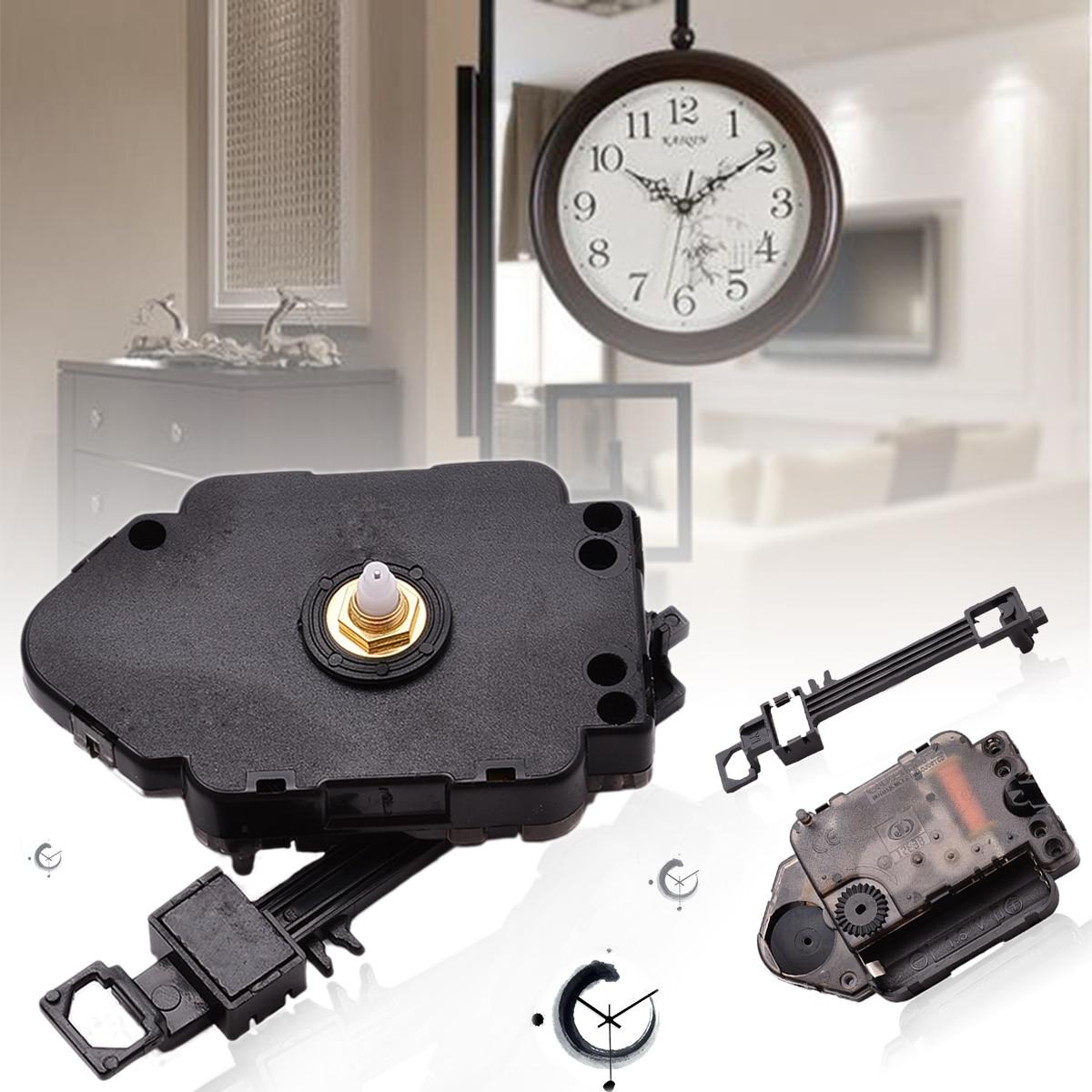 Replacement Pendulum Clock Movement Mechanism Quartz Clock Motor Hanger  Swing Clock Hands DIY Repair Parts