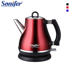 1.2L Colorful 304 Stainless steel Electric Kettle 1500W Household 220V Quick Heating Electric Boiling Pot Sonifer