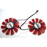 Free Shipping FirstD 85mm FDC10U12S9-C 0.45AMP Cooler Fan Replace For XFX RX 560D 570 580  Vga Graphics Video Card Cooling Fans