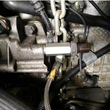 1/8 ''BSPT датчик давления масла тройник к NPT адаптеру турбо питания линия Калибр EP-CGQ197 универсальные автомобильные аксессуары