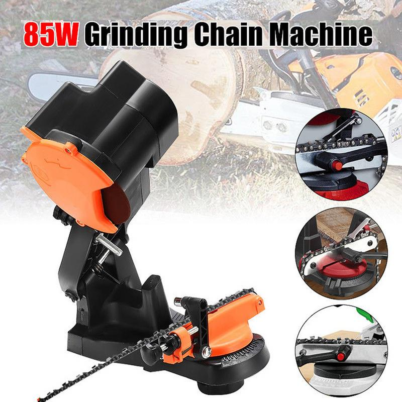 4800RPM Electric Power Chainsaw Chain Saw Sharpener Grinder Wall Mount Portable Garden Tools цена