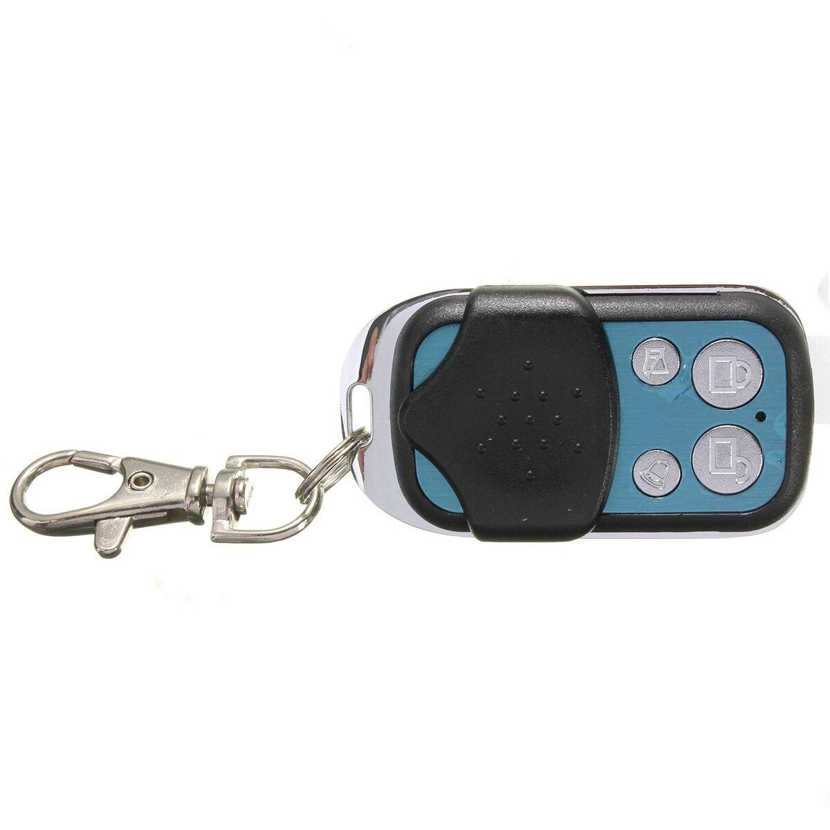 1 Set systèmes d'alarme voiture Auto Kit Central à distance serrure de porte verrouillage véhicule sans clé système d'entrée avec télécommandes - 5