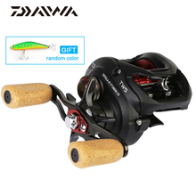 Daiwa Original Tatula Ct Type-r Cs 100h 100hl 100hs 100hsl Baitcasting Fishing Reel 7+1bb Crbb 6kg Tws Saltwater Fishing Reel