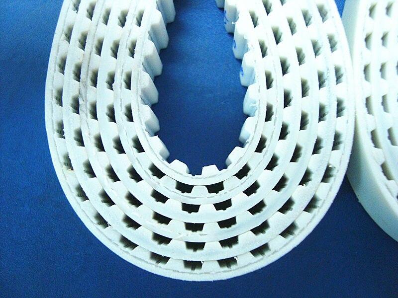 Alumínio polia cronometrando T5 28 dentes 10mm furo 10 cinto seis milímetros de largura e 1570 T5 10 PU withsteel núcleo correia dentada um pacote - 4
