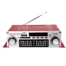 Kentiger Hy 602 Mini Draagbare Hifi Stereo Power Digitale Versterker Met Fm Ir Controle Fm Mp3 Usb Afspelen Met Vier Dsp