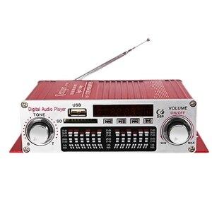 Image 1 - Kentiger Hy 602 Mini Portatile Hifi Stereo Amplificatore di Potenza Digitale con Fm di Controllo Ir Fm Mp3 di Riproduzione Usb con Quattro Dsp