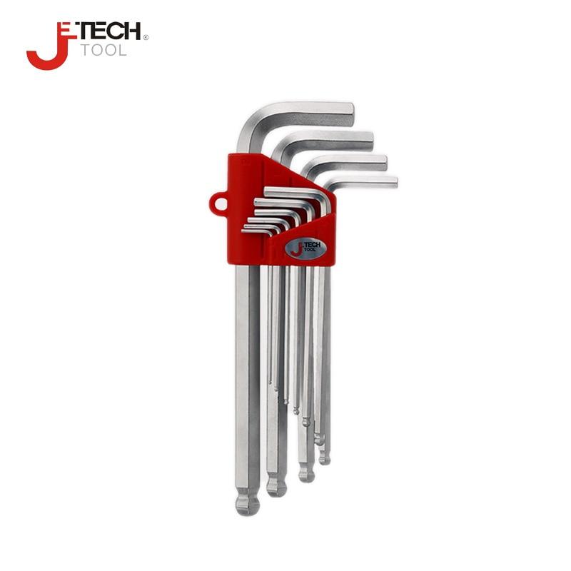 Set di chiavi a brugola per pollice in pollici Jetech 10 pezzi 1/16 - Utensili manuali - Fotografia 1