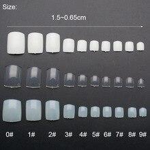 rtificial Acrylic Toe False Nails
