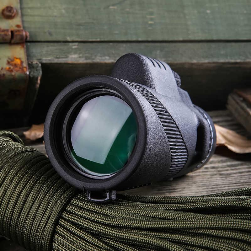 Potężny monokularowy daleki zasięg 1000m teleskop do smartfona 40X60 wojskowy Spyglass Zoom wysokiej jakości optyka myśliwska HD zakres