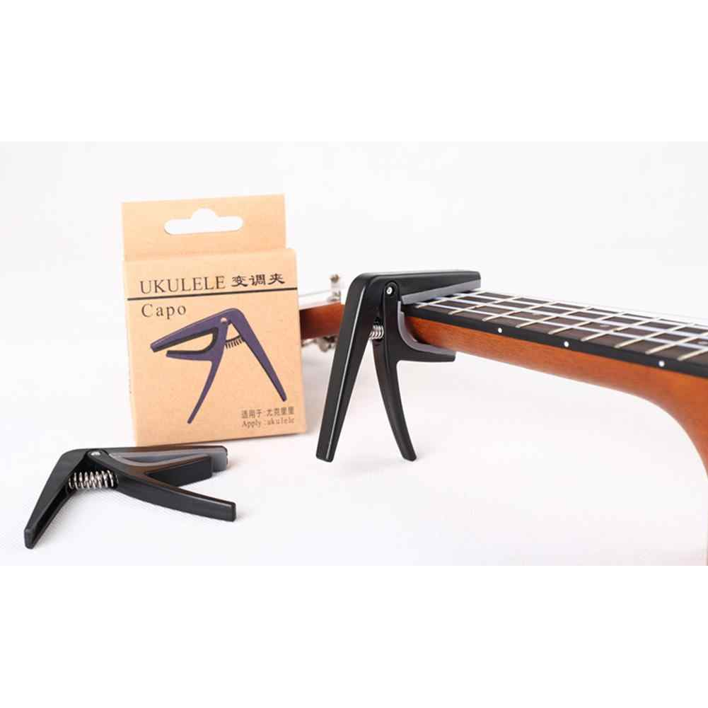 IRIN Professional Ukulele Capo 4 Strings Hawaii Guitar Capos Single-handed Quick Change Ukelele Capo Guitar Parts & Accessories