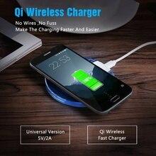 Qi Беспроводное зарядное устройство, K9 QI Беспроводная зарядная подставка/Накладка для Apple iphoe X/ihone 8/8 Plus, Sasung Galxy Note 8/Note 5, S6 S7
