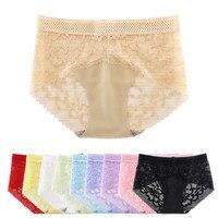 69586de6c 10pcs Sexy Lace Panties For Women Underwear Seamless Briefs Solid Lingerie  Mid Waist Cotton Panty Breathable. 10 pcs Sexy Lace Calcinhas Para Mulheres  ...
