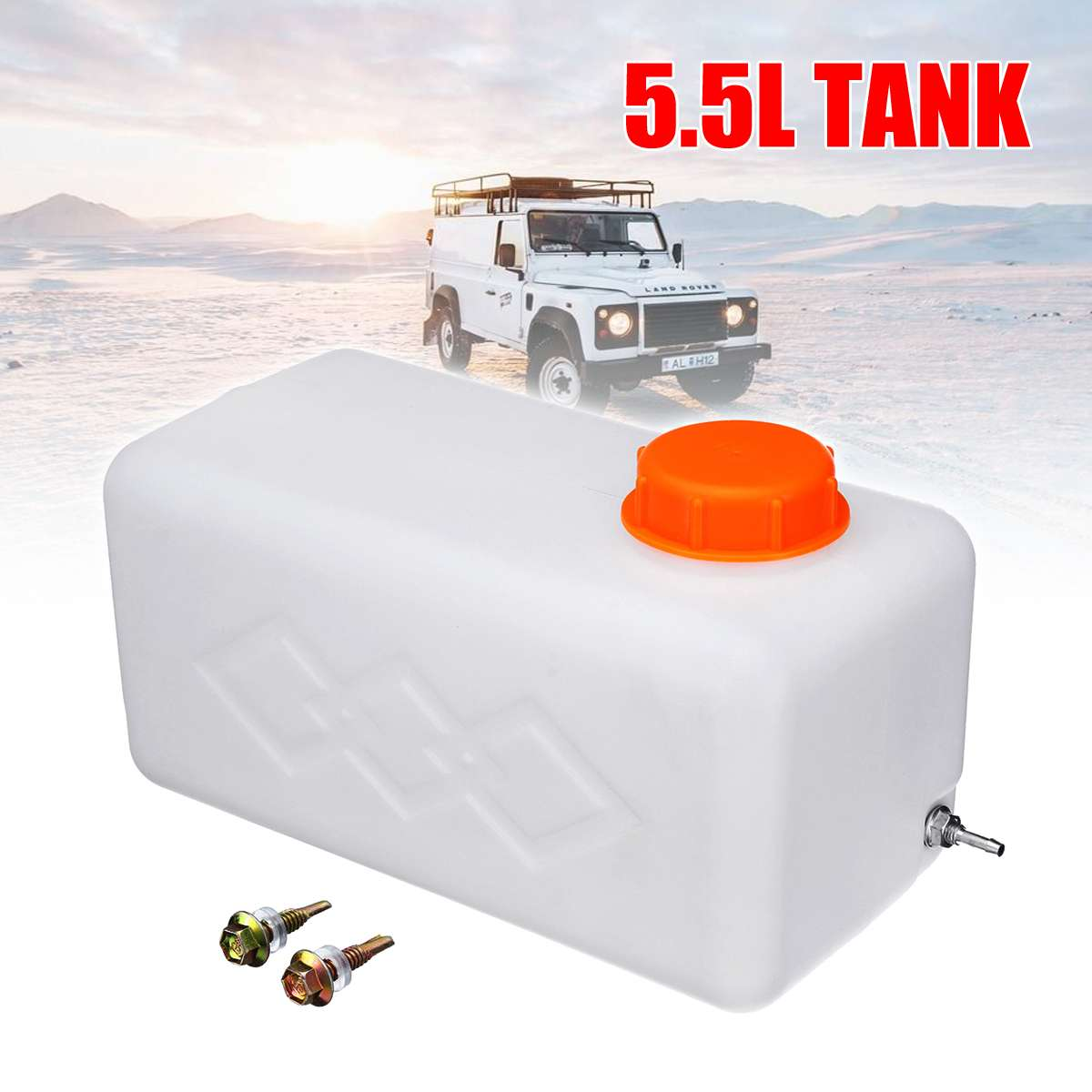 Fuel Tank 5.5L Oil Gasoline Diesels Petrol Plastic Storge Canister Water Tank Boat Car Truck Parking Heater Accessories