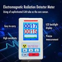 KKMOON Dosimeter Geiger Counter Nuclear Radiation Detector X ray Beta Gamma Detector Geiger Counter Radioactivity Detector