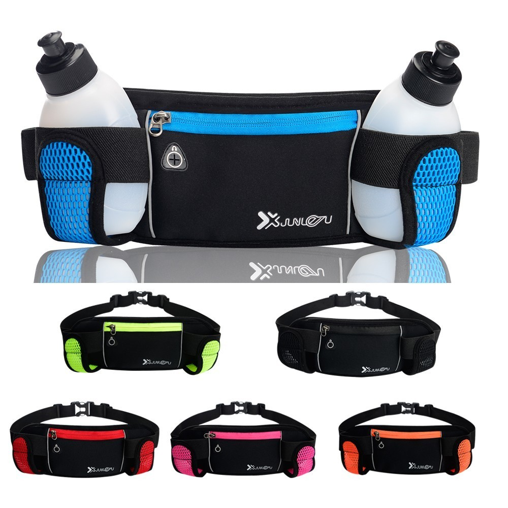 Sport Waist Bag For Woman/Man Trail Running Hydration Belt Pouch Cycling Jogging Bag With Bottle Phone Fanny Pack Fit Money Belt