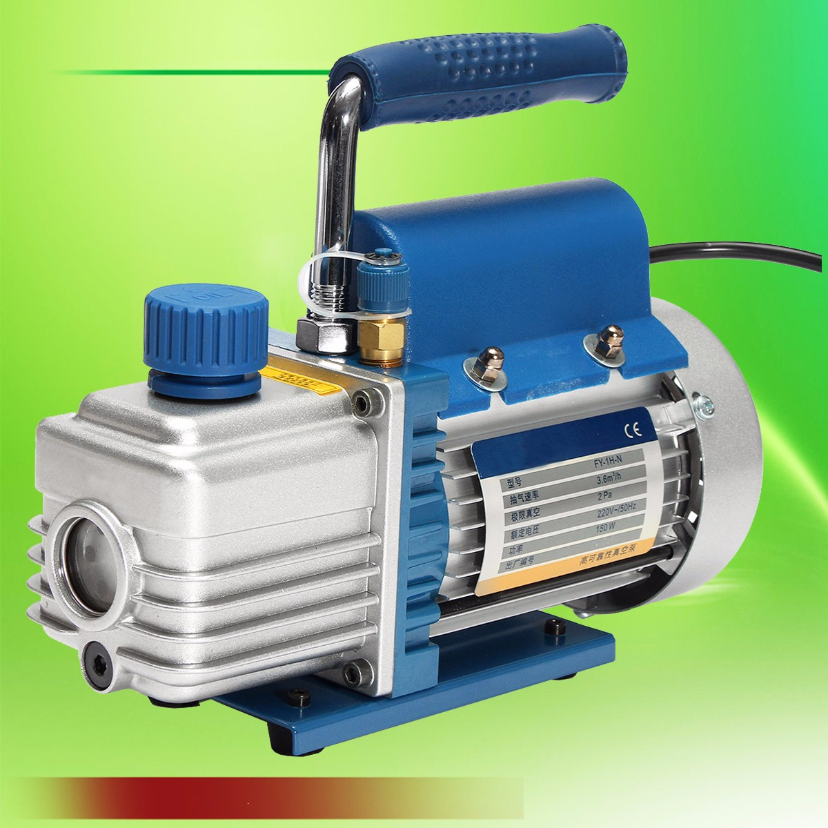 1PC 150W 220V Mini Aria Pompa Per Vuoto A Palette del Compressore D'aria Separatore LCD Macchina di Laminazione HVAC Refrigerazione strumenti di riparazione