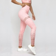 Women High Waist Leggings 2019 Summer Fitness Shiny Ladies Casual Push Up Trousers Female Stretchy Slim Pants Plus size