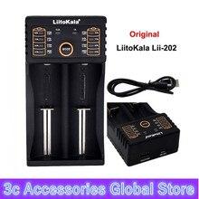 LiitoKala lii 100 Lii 202 lii 402 lii 500 18650 acculader 1.2V 3.7V AA/AAA 26650 10440 14500 16340 18350 smart charger