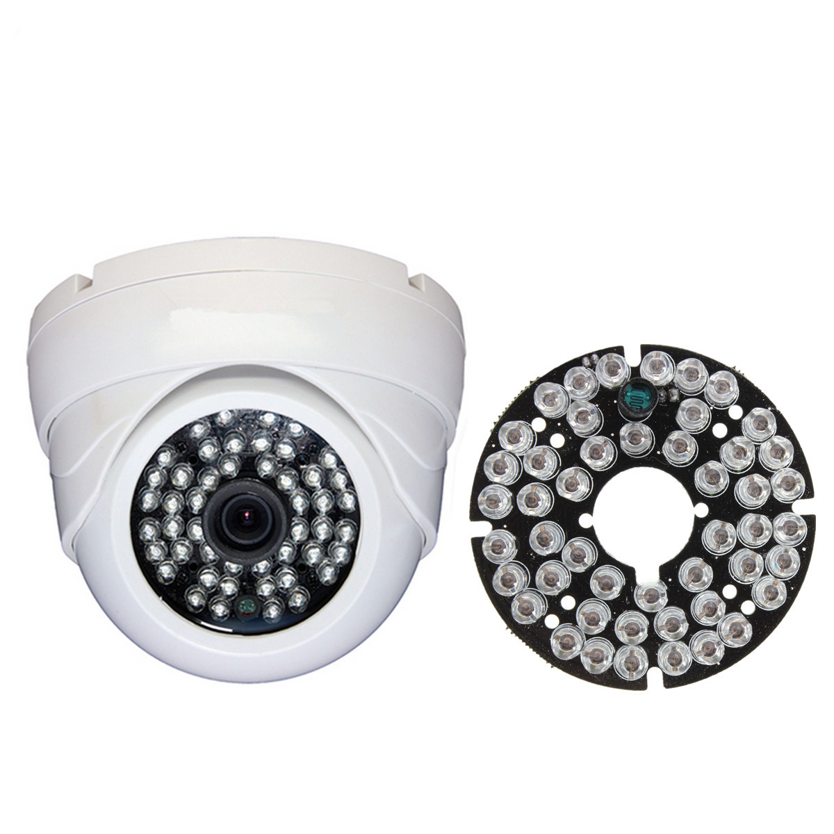 48 LED IR Infrared Illuminator-Bulb Module Board For CCTV Security Camera Replace CCD Camera LED Board  prevention48 LED IR Infrared Illuminator-Bulb Module Board For CCTV Security Camera Replace CCD Camera LED Board  prevention