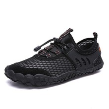 Купить с кэшбэком Men Casual Shoes Lightweight Breathable Flats Men Shoes footwear Zapatos Hombre Casual Shoes Men chaussure homme Brand Shoes 47