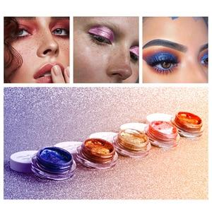 2020 Hot Sale 25 Color Jelly Eye Shadow Gel Cream Brightening High Light Wet Eye Shadow Pigment Makeup Paste Monochrome TSLM1