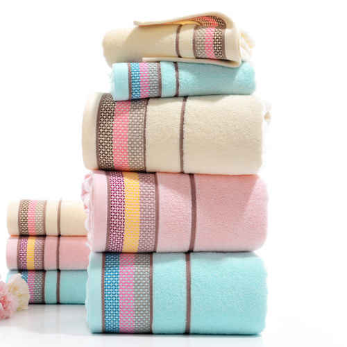 1Pcs Cotton Soft High Absorbent Washcloths Face Hand Bath Towel Drying Thick High Absorbent Antibacterial