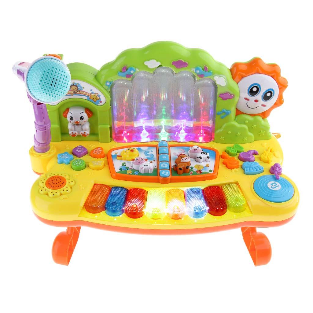 Fontaine clavier de Piano électronique Instrument de musique développement sensoriel jouets éducatifs précoces pour enfants en bas âge enfants