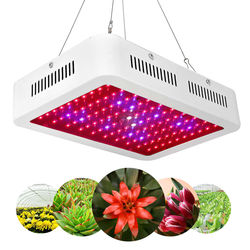 100W lampa LED do hodowli roślin Full Spectrum lampa kryty odkryty roślina cieplarniana lampa dla roślin warzyw System hydroponiczny roślin