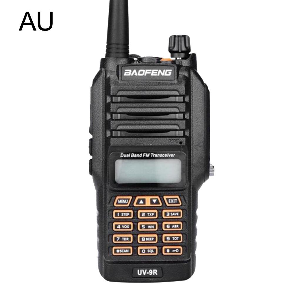 100 Original Baofeng UV 9R IP67 8W Long Range Walkie Talkie 10km Amateur Radio Dual Band UV9R Portable CB Radio Communicator in Walkie Talkie from Cellphones Telecommunications