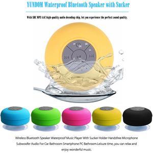 Image 4 - Nieuwe Bluetooth Speaker Waterdichte Draadloze Bluetooth Speaker Badkamer Mini Modieuze Musical Draadloze Speaker Met Zuignap