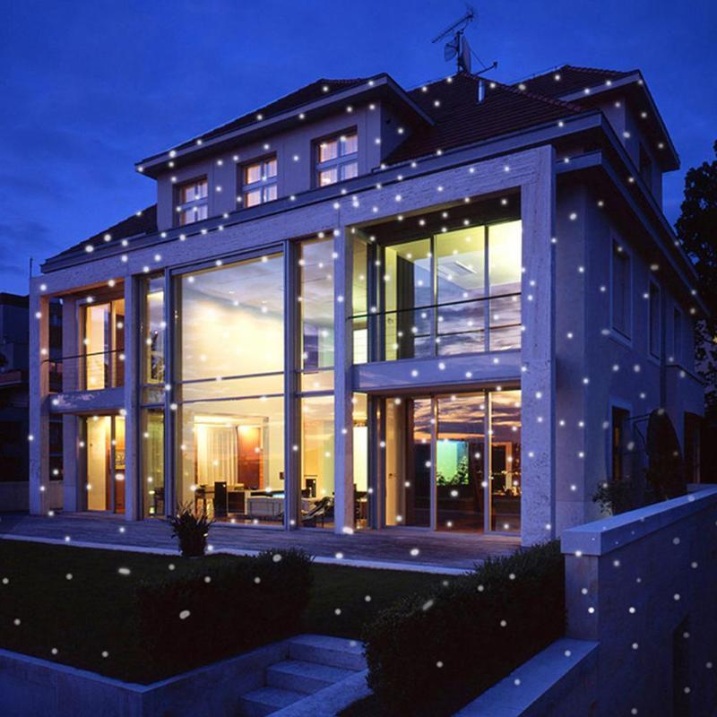 Lumière de scène de LED de flocon de neige - 5