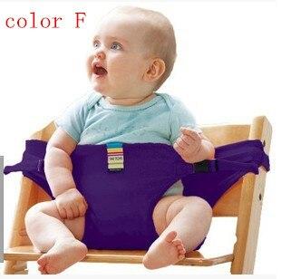 2016Infant الطفل كرسي أحزمة الأمان تمتد التفاف ، المحمولة للطي ماركة تسخير ل تناول طعام الغداء ، الطفل الداعم مقعد