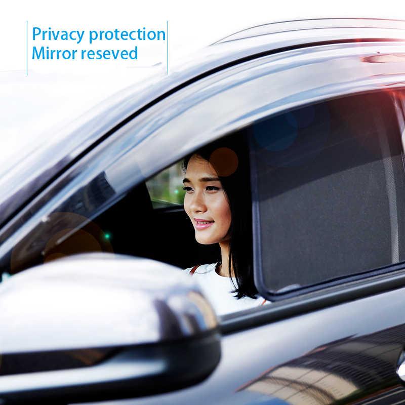 Для Polo Bora & Golf6 & Golf5 & Golf7 & спортивный фургон Golf & Gran Lavida Автомобильная завеса черное магнитное боковое окно автомобиля Солнцезащитная сетка тени слепой