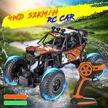 Rc Auto 4wd High Speed Wireless Wiederaufladbare Auto Klettern Elektrische Lkw Fernbedienung Off-road Fahrzeug Spielzeug Für Jungen Kind Geschenk Rc-lastwagen