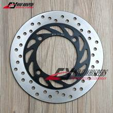 Motorcycle Round Rear Brake Disc Rotor For Honda CB400 CB-1 CB500 CB750 CB900 Hornet919 CBR250 PS250 NSS250 FES250 XL650 XRV650(China)