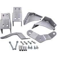 Fit for Jeep XJ Cherokee 84 01 Control Arm Drop Kit 4.5 lift & up Aftermarket