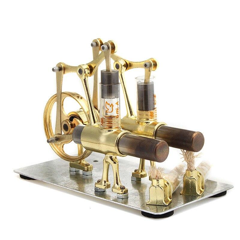 Kit d'expérimentation scientifique pour moteur Stirling pour Collection de cadeaux pour enfants
